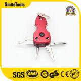 Le métal custom trousseau avec décapsuleur trousseau de clés de poche