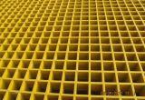 Rejas moldeadas FRP de la fibra de vidrio con la superficie cerrada fuertemente