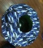 slitta trainabile gonfiabile del pattino della neve di colore del camuffamento del tubo dei inflatables di acqua del tubo gonfiabile del pattino esterna