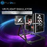 Tecnología superior de Zhuoyuan de las ventas máquina de juego de 720 del grado aviones de la arcada Flight Simulator