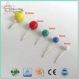 Pin нажима размеров необходимостей 5 офиса пластичный круглый для маркировки