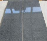 中国G654の黒い花こう岩の平板のタイル