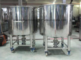 Aço inoxidável sanitárias Recipiente do tanque de armazenagem de produtos químicos para cosmética/Farmácia/Indústria Alimentar