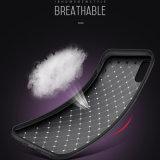 Neuestes einfaches spinnendes Telefon umkleidet TPU Kasten für iPhone X