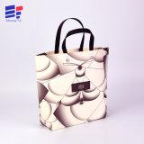 Handmade Custom Design Logo sac de papier cadeau avec la corde en plastique