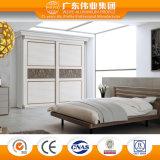 Garde-robe de chambre à coucher de meubles d'alliage d'aluminium