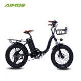 セリウムとの中国のアルミ合金フレーム48V 500W浜の電気折る自転車/Snow Ebike