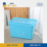 Dobre capaz Frutas Caixa de armazenamento de plástico, caixa de recipientes de armazenamento de plástico