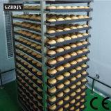 Bonne qualité de professionnel de 64 bacs de l'équipement de cuisson à gaz avec four à pain certificat CE rotatif