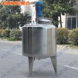 Camisa sanitaria Proyecto depósito mezclador de acero inoxidable