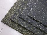 EPDM 20%カラー体操のための粒状のゴム製床タイルのマット