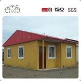 Casa casera prefabricada del acero del edificio prefabricado de lujo del chalet