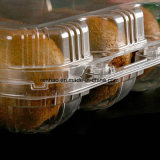 Contenitore fresco di alimento chiuso sotto vuoto automatico di plastica