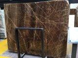 Lastra del marmo di Onyx del Brown per la cucina/stanza da bagno/parete/pavimento