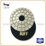3 Stootkussens van de Diamant van de duim de Zwarte Witte Bleekgele Oppoetsende voor Diverse Steen