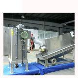 Aço inoxidável automático do equipamento de tratamento de lamas Empilhada
