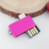 Mini Swivel 64GB OTG Mobile Pen Drive USB de memória flash