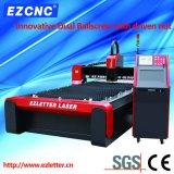 Cortadora dual del acero inoxidable del CNC del laser de la fibra de la transmisión del tornillo de la bola de Ezletter (GL1530)