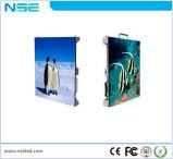 Nse P4 de alta resolução de tela de aluguer flexível interior para a fase