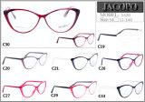 Cp het Klaar Plastic Frame van Eyewear van de Voorraad van de Oogglazen van het Frame van de Voorraad van de Goederen van het Frame Klaar