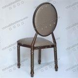 모방된 목제 의자 Yc-D230-1를 겹쳐 쌓이는 회색 직물 임대료