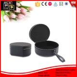 Negro personalizada cuero simple de ver la caja (8345)