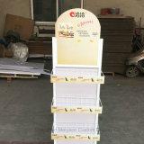 Magasin de détail 5 couche de graines de melons d'étagère Snack Panier Stand