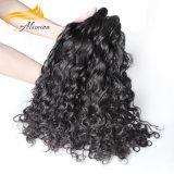 Более толщиные волосы волны мягкой и ровной девственницы индийские свободные