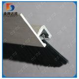 Bandeau de porte coulissante en nylon noir brosse