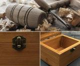 Boîte-cadeau en bois de qualité d'OEM rétro