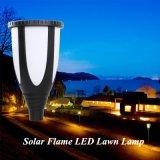 太陽動力を与えられたLEDの炎の芝生ランプ