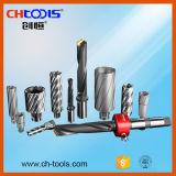 25mmの切込み歯丈のユニバーサルすねHSSの磁気穴あけ工具