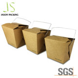 Питание салат складные крафт-бумаги упаковки