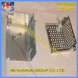 Auminum металлическую коробку, изготовленных из китайского оборудования на заводе (HS-MB-027)