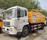 Haute pression chariot vide d'aspiration des eaux usées d'égout Véhicule de nettoyage
