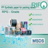 Documento, stampa di saturazione di alto colore & resistente di acqua sintetici rallentatori