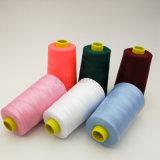 Haut de la qualité l'anneau de fil de polyester recyclé filés pour fils à coudre en provenance de Chine