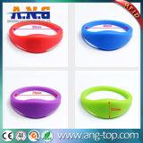 rotes 1K kompatibles RFID Silikon-Armband des 77mm Durchmesser-