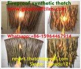 Thatch sintético que telha a tampa mexicana 15 do cabo da chuva do Thatch de lingüeta artificial da palma de Rio do Thatch de Bali Java Palapa Viro do Thatch