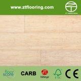 Blanc en ivoire conçu HDF de souillure en bambou de plancher de Strandwoven