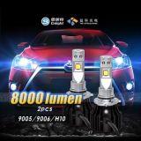 2017 Bovenkant die Auto LEIDENE LEIDENE van de Lamp 40W Koplamp verkopen Bulb& 12 LEIDENE van de Volt Auto Lichte Aftermarket Koplampen 9005 9006