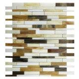 O preço reduziu a telha do mosaico do vidro manchado de 40% para a parede interior