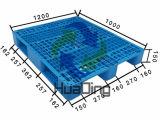 Gezicht 4 van het Netwerk van de Lage Prijs 1200*1000 Hotsale de Plastic Pallet van de Manier