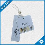 Gedruckte Papierkleid-/Clothing-Fall-UVmarke mit abgleichenden Zeichenkette-Zubehören