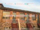 Thatch синтетического Thatch сторновки африканский, котор нужно сделать технически и пожаробезопасным на курорт 9 крыши
