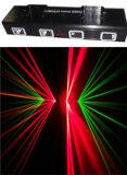 Licht van de Laser van vier Hoofden het Rode & Groene