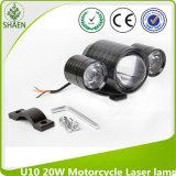 12-80V 차, 트럭 U10 LED 기관자전차 레이저 광