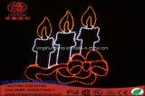 Indicatore luminoso della decorazione di festa di natale della candela LED