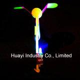 Brinquedo de giro dos helicópteros do estilingue do vôo do diodo emissor de luz