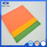 Hoja coloreada ULTRAVIOLETA del panel de la fibra de vidrio FRP de China